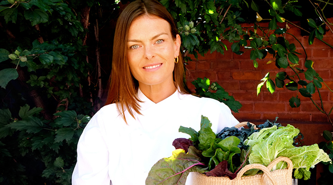 Renée Loux: green expert, writer, TV host, organic chef and more.