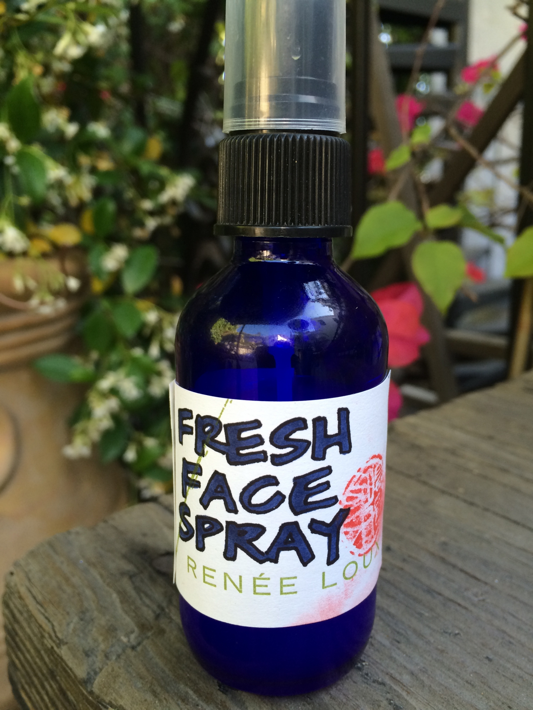 Fresh Face Spritzer + custom blends for skin types