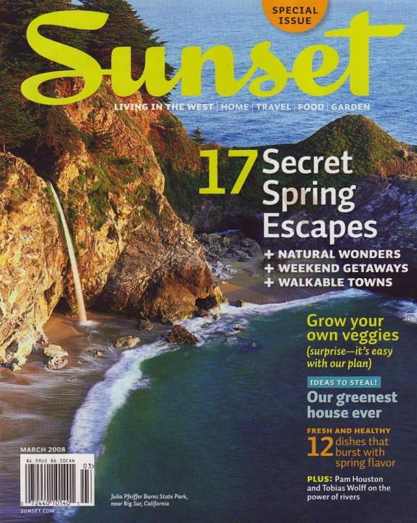 Sunset Magazine Be your own Queen of Green