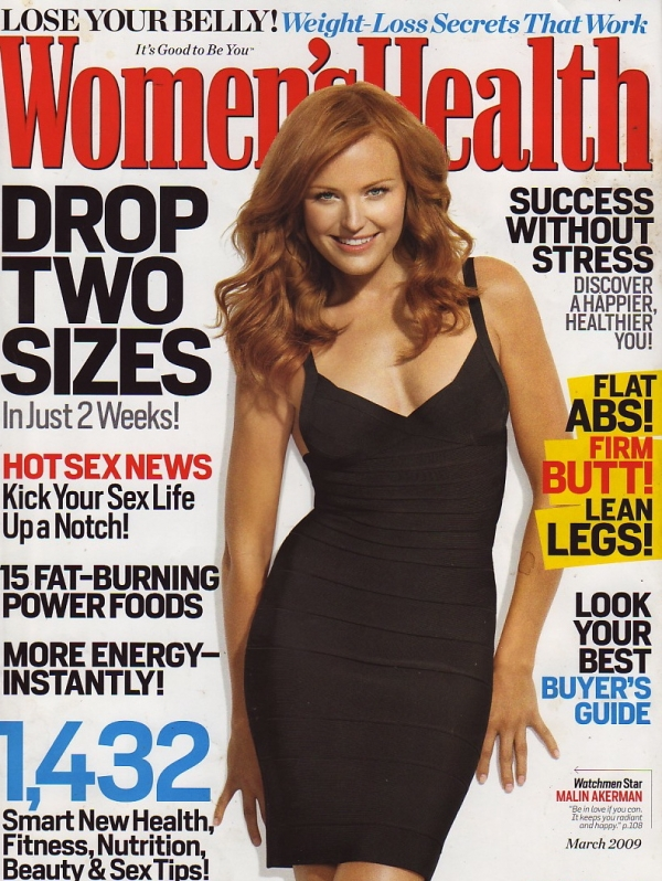 Women's Health MARCH 2009 > Renée Loux, GREEN your PAD